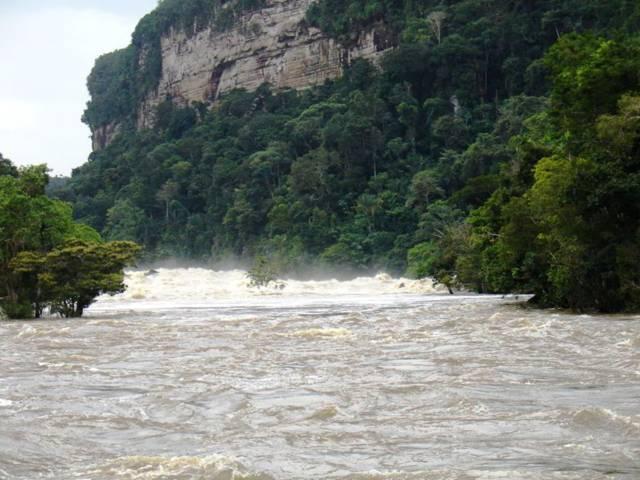 Información del Cañon de Araracuara
