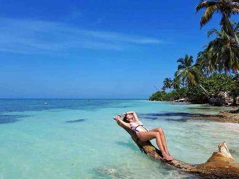 Playas Islas del Rosario Cartagena Colombia
