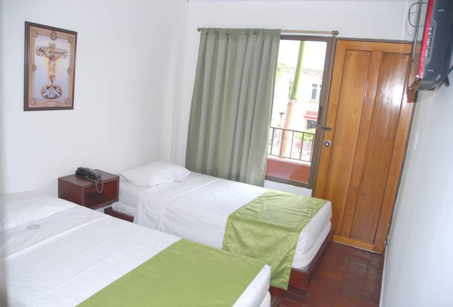 Habitaciones Hotel Casa del Peregrino Buga