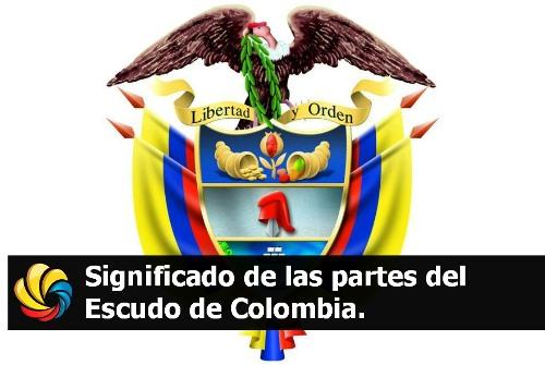 partes del escudo de Colombia