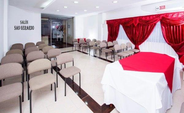 salón para eventos hotel casa del peregrino