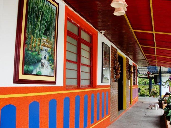 Finca Hotel la Shangrila cerca al eje cafetero