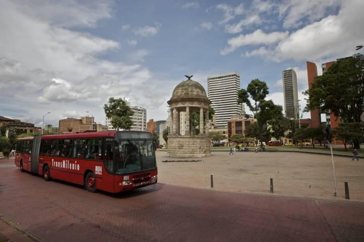 Transporte Bogotá Colombia