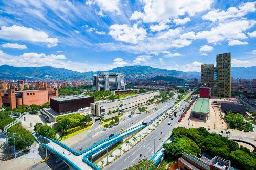 Ciudad de Medellin Colombia