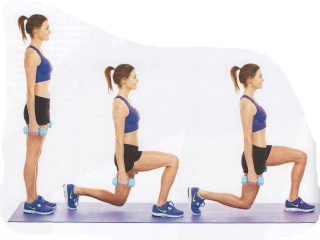 ejercicio estocadas
