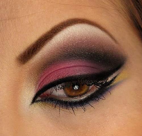 Cómo Maquillarse Los Ojos Correctamente