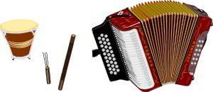 Instrumentos del Genero Vallenato