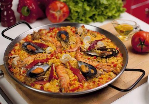 Preparar Arroz a la Valenciana
