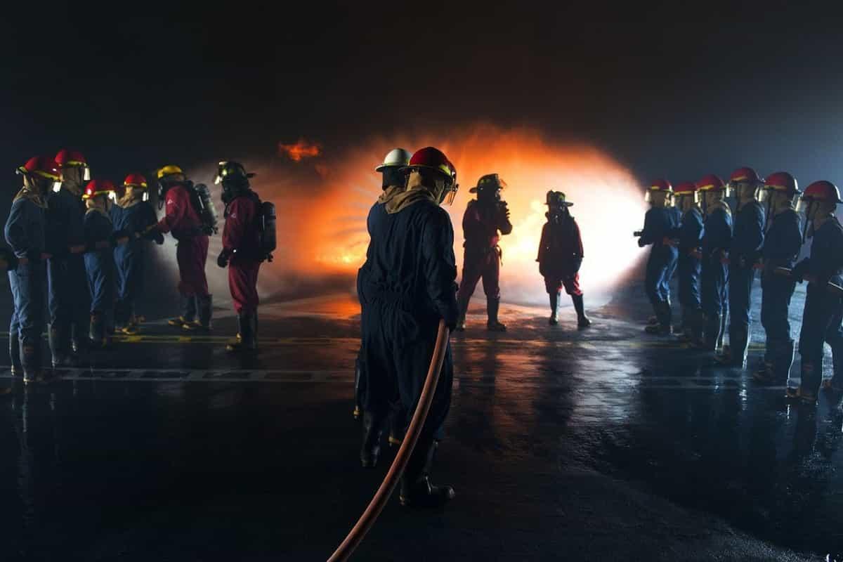 celebración del día del bombero en Colombia