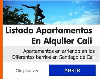listado apartamentos en arriendo Cali