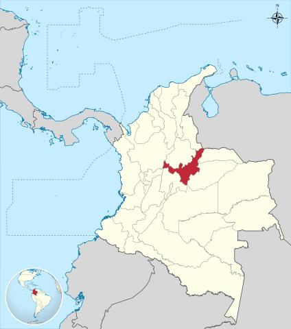 Departamento de Boyacá Colombia