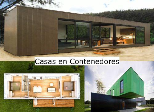 Casas hechas con contenedores mar timos reciclados Modelo de viviendas para construir