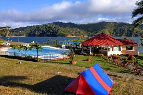 camping lago calima