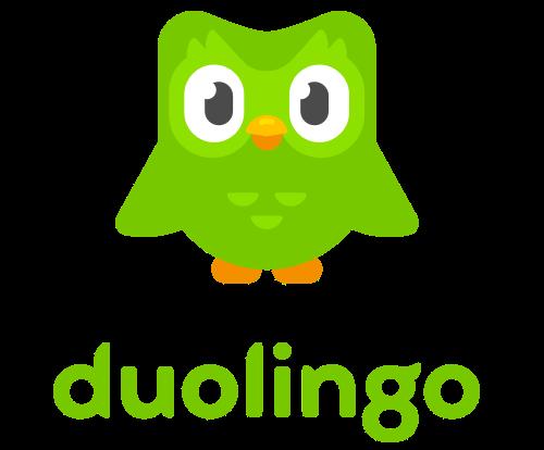 aprende inglés con la aplicación Duolingo