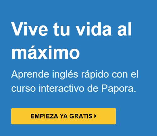 aprender Inglés con método Papora