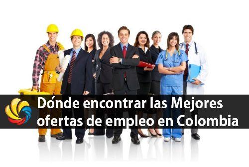 dónde encontrar las mejores ofertas de empleo en Colombia