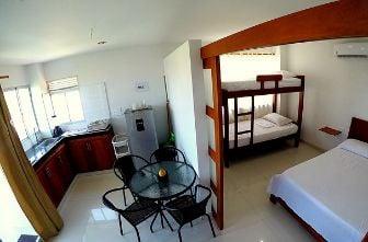 habitaciones hotel camino palmero Coveñas