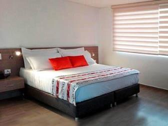 habitacion hotel lomas 10 suite Medellín