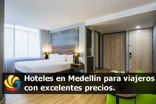 hoteles en Medellín Antioquia Colombia