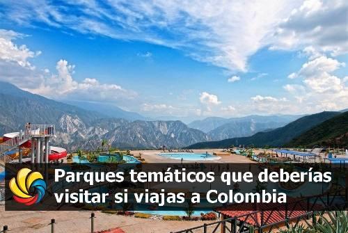parques temáticos más visitados en Colombia