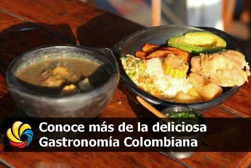gastronomía colombiana y los platos típicos de Colombia