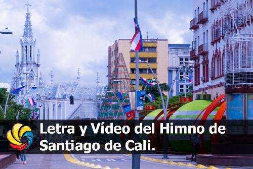 Letra himno Santiago de Cali