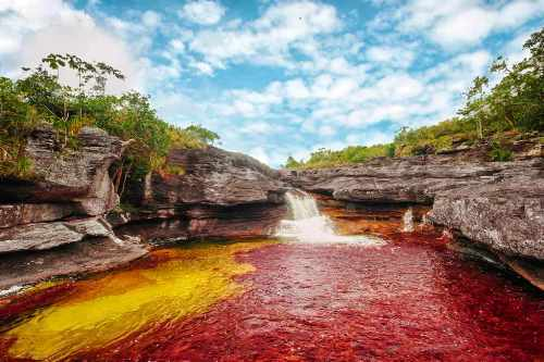 destinos maravillosos de Colombia como Cano cristales