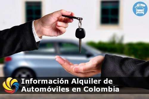información alquiler de carros en Colombia
