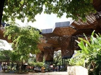 Orquideorama Jardín Botánico en Medellin