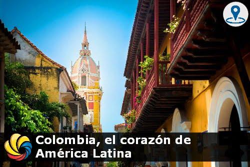 Colombia el corazón de América Latina