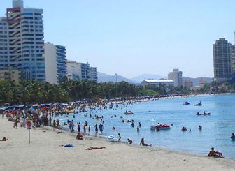playas del rodadero en Santa Marta Colombia