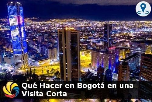 qué hacer en Bogotá en un día o dos