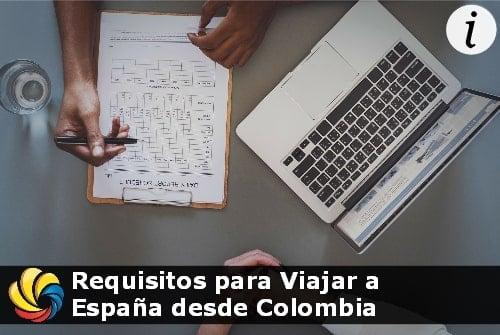 requisitos para viajar a España desde Colombia con la Visa ETIAS
