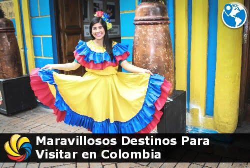 ¿Cuáles son los Destinos Maravillosos en Colombia?