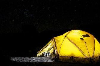 acampar en Colombia