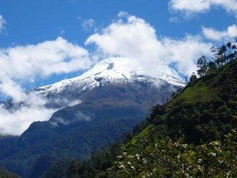 nevados más altos en Colombia