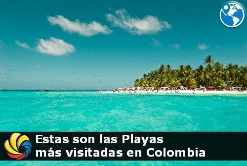 playas más visitadas en Colombia por turistas