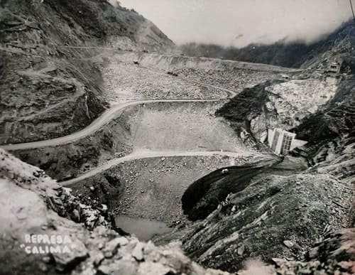Historia de la represa del Calima