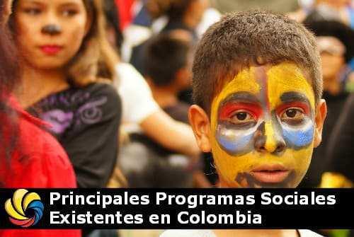 los principales programas sociales de Colombia