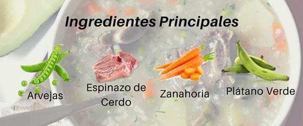 ingredientes para hacer cuchuco