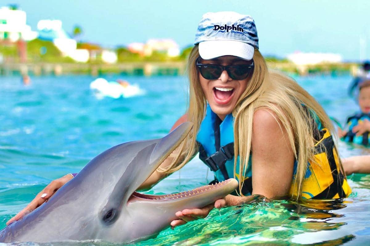 Nadando con Delfines en Cancún