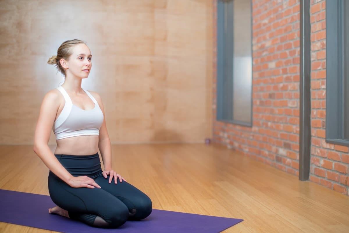 Accesorios para una clase de yoga