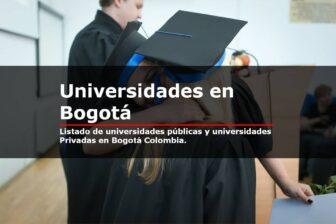 universidades en bogota