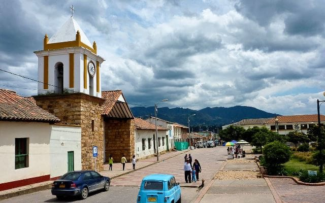 Plaza de Suesca