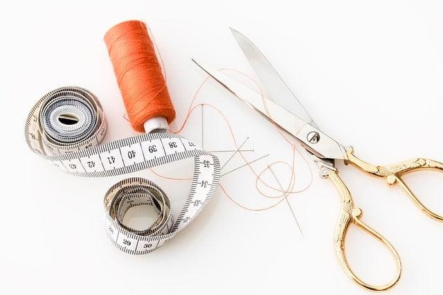 tijeras de costura