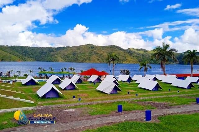 zona de camping calima windsurf