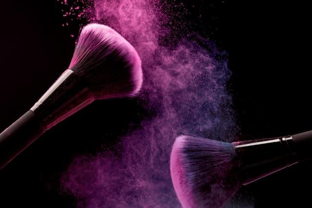 brochas para cosméticos naturales