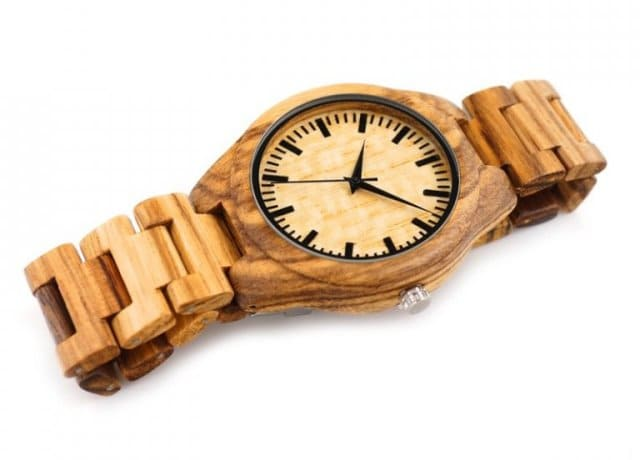 regalar relojes de madera eco-amigables